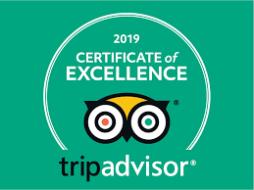 Trip Advisor 2020 Certificate
