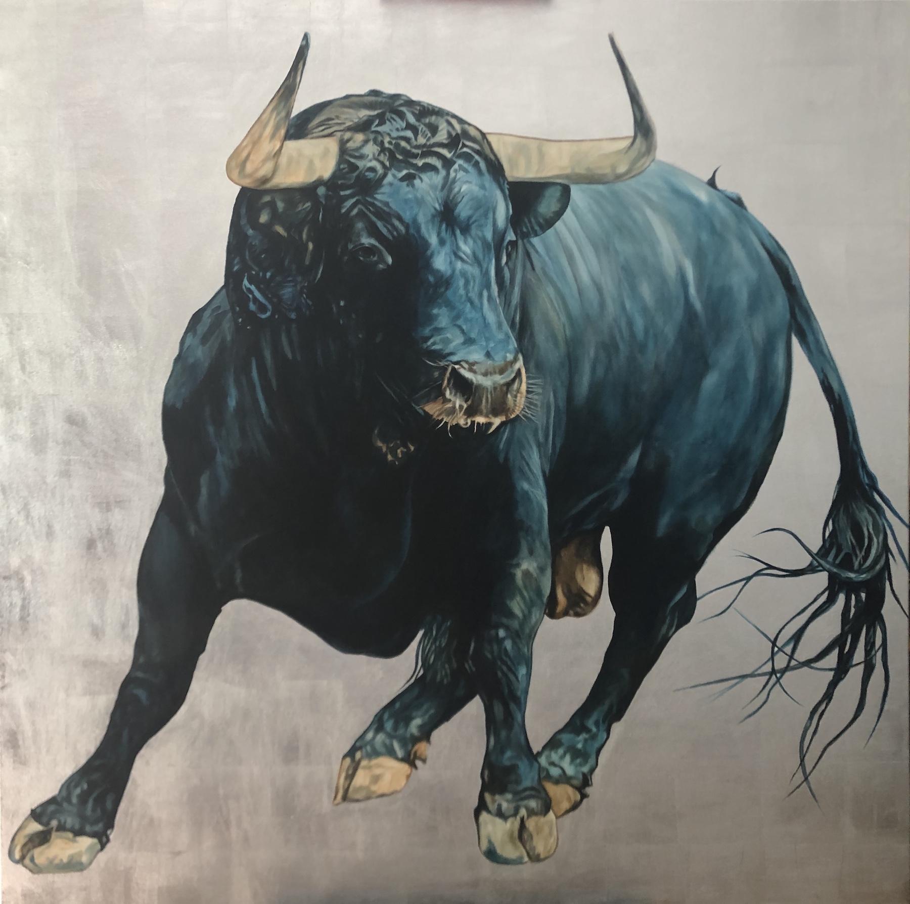 Blue Bull by Adam Pete