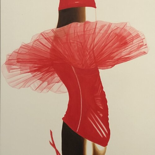 Tutu Red by Adam Pete