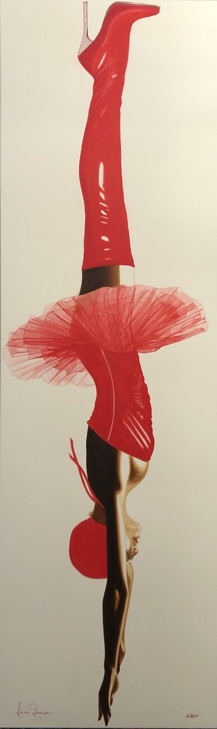 Tutu Red by Adam Pete